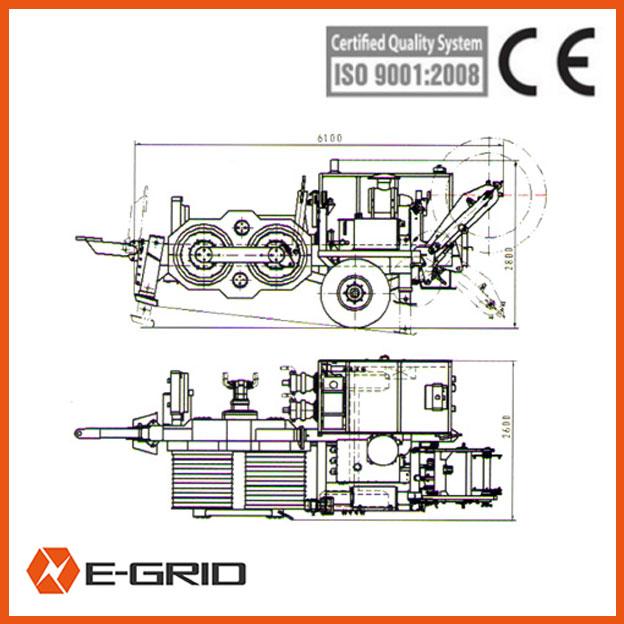 SA-YQ420 Hydraulic Puller