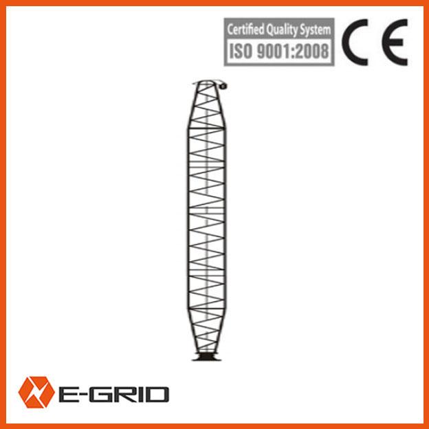 Aluminum alloy Single lattice-like aluminum gin pole